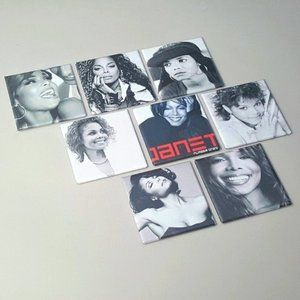 Janet Jackson Muisc Pins Buttons LGBTQ Jewelry Art